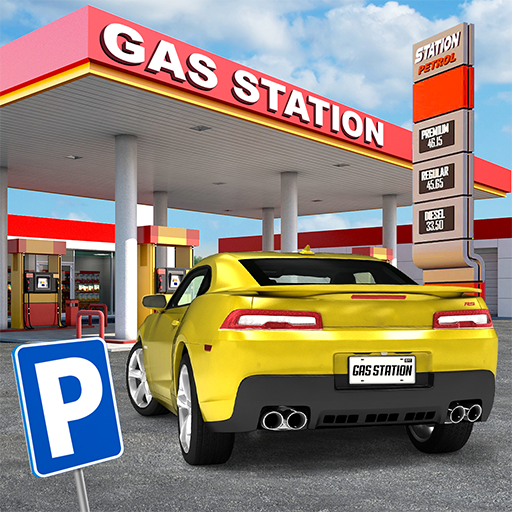 Gas Station: Car Parking Sim  (Unlimited money,Mod) for Android 2.5