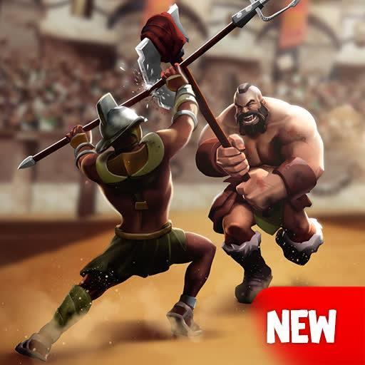 Gladiator Heroes Clash: Fighting and strategy game  (Unlimited money,Mod) for Android  3.4.3
