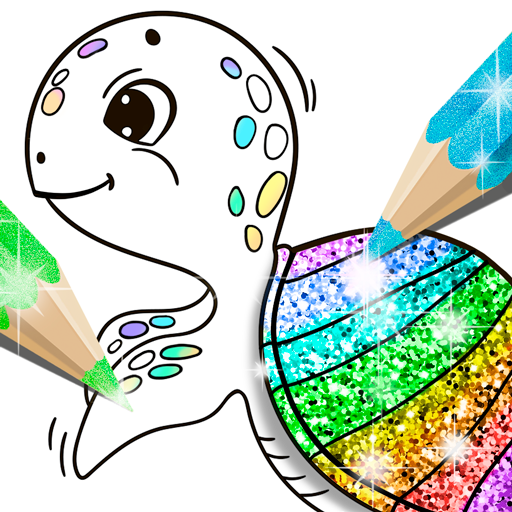Glitter Coloring Book for Kids: Kids Games  (Unlimited money,Mod) for Android 1.0.6.0