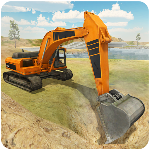 Heavy Excavator Simulator PRO  (Unlimited money,Mod) for Android 5.8