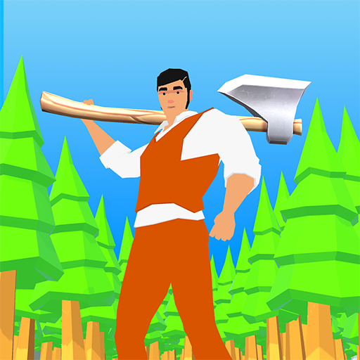 Idle Lumberjack 3D  (Unlimited money,Mod) for Android 1.5.5