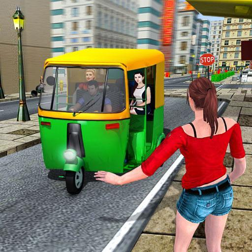 Indian Modern Rikshaw Drive  (Unlimited money,Mod) for Android 1.0.3