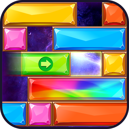 Jewel Sliding™ – Falling Puzzle, Slide Puzzle Game  (Unlimited money,Mod) for Android   1.1.28