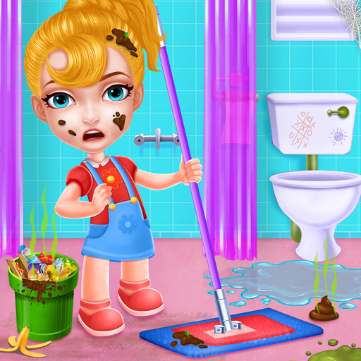 Keep Your House Clean – Girls Home Cleanup Game  (Unlimited money,Mod) for Android 1.2.56
