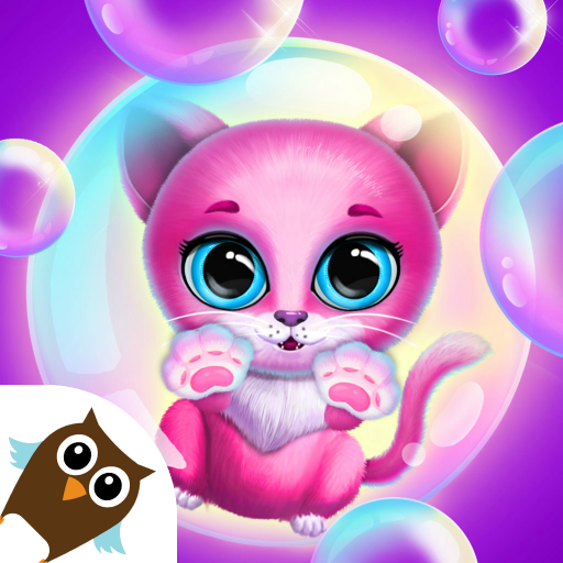 Kiki & Fifi Bubble Party – Fun with Virtual Pets  (Unlimited money,Mod) for Android 1.1.20