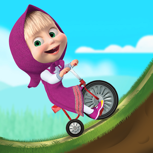 Masha and the Bear: Climb Racing and Car Games  (Unlimited money,Mod) for Android 1.2.2