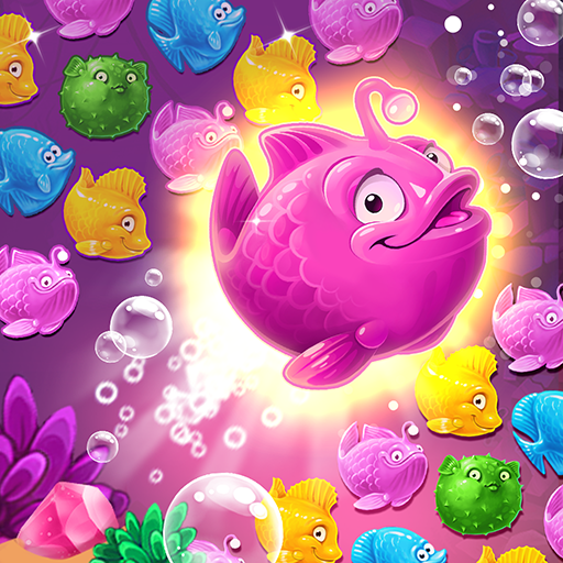 Mermaid – treasure match-3  (Unlimited money,Mod) for Android 2.41.0