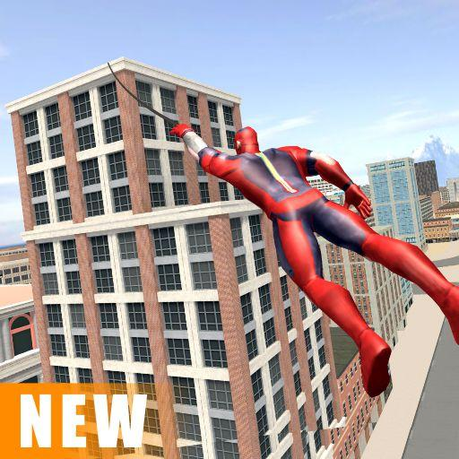 Miami Rope Hero Spider Open World Street Gangster  (Unlimited money,Mod) for Android 1.0.25