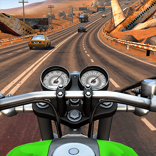 Moto Rider GO: Highway Traffic  (Unlimited money,Mod) for Android 1.26.3