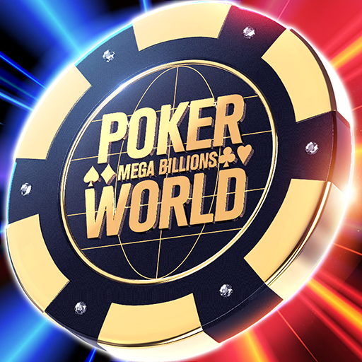 Poker World Mega Billions  (Unlimited money,Mod) for Android 1.330.1.351