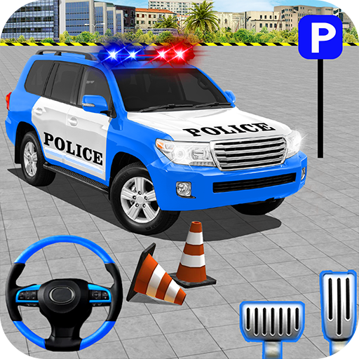 Police Jeep Spooky Stunt Parking 3D  (Unlimited money,Mod) for Android 0.5