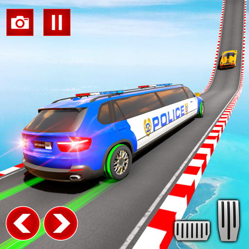 Police Limo Car Stunts GT Racing: Ramp Car Stunt  (Unlimited money,Mod) for Android 1.0.7