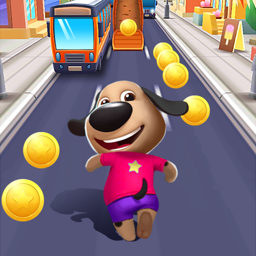 Talking Dog: Puppy Surfs Runner  (Unlimited money,Mod) for Android 2.0