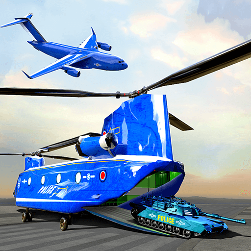 US Police Plane Transporter – Transport Simulator  (Unlimited money,Mod) for Android  2.0