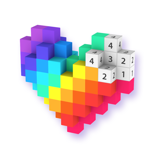 Voxel – 3D Color by Number & Pixel Coloring Book  (Unlimited money,Mod) for Android 3.0.5