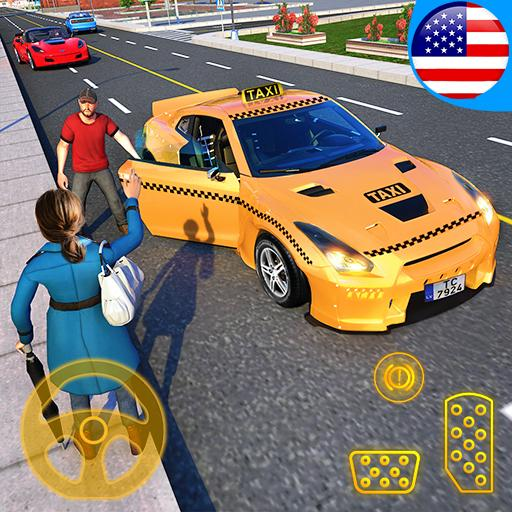 Yellow Cab American Taxi Driver 3D: New Taxi Games  (Unlimited money,Mod) for Android  1.7