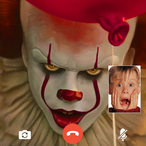 scary clown fake video call (Unlimited money,Mod) for Android 16.0
