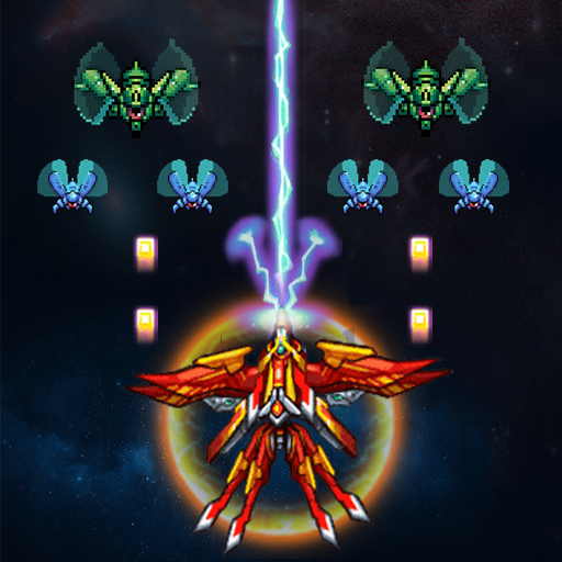 Alien Attack: Galaxy Invaders  (Unlimited money,Mod) for Android 1.3.6