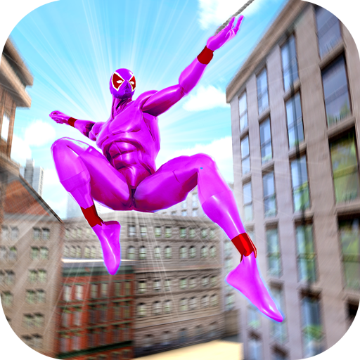Amazing Spider Crime Hero: Gangster Rope Hero Game  (Unlimited money,Mod) for Android