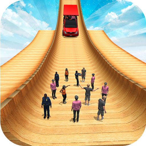 Biggest Mega Ramp With Friends – Car Games 3D  (Unlimited money,Mod) for Android