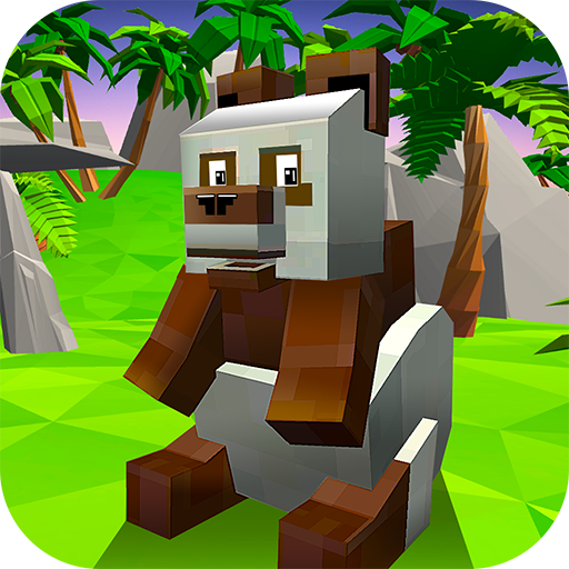 Blocky Panda Simulator – be a bamboo bear!  (Unlimited money,Mod) for Android