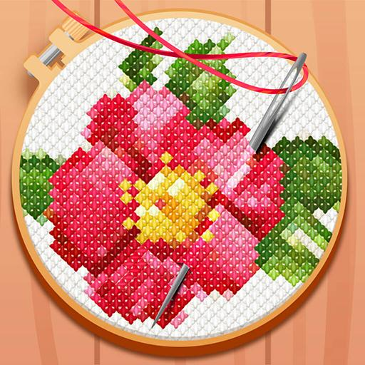 CROSS-STITCH: COLORING BOOK  (Unlimited money,Mod) for Android 0.0.127