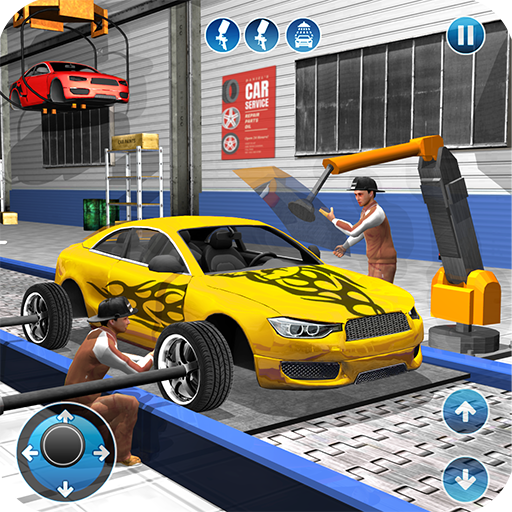 Car Maker Factory Mechanic Sport Car Builder Games  (Unlimited money,Mod) for Android 1.11