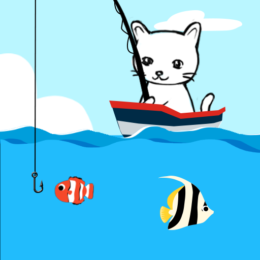 Cat Fishing  (Unlimited money,Mod) for Android