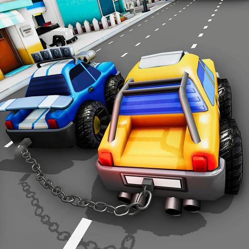Chained Cars Impossible Stunts 3D – Car Games 2020  (Unlimited money,Mod) for Android