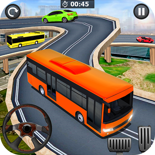 City Coach Bus Driving Simulator: Driving Games 3D  (Unlimited money,Mod) for Android 1.1