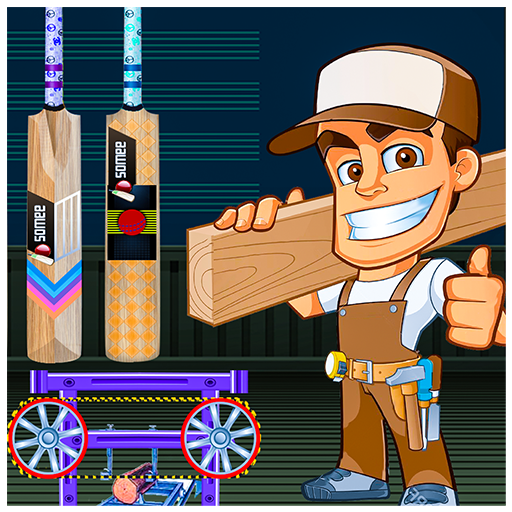 Cricket Bat Maker Factory – Bat Making Game Sim  (Unlimited money,Mod) for Android 1.0.17