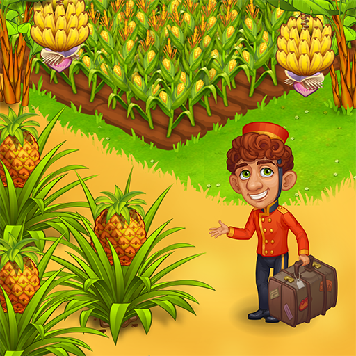 Farm Paradise – Fun farm trade game at lost island  (Unlimited money,Mod) for Android 2.15