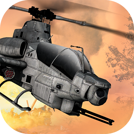 GUNSHIP COMBAT – Helicopter 3D Air Battle Warfare  (Unlimited money,Mod) for Android
