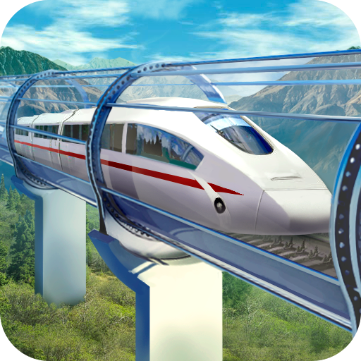 Hyperloop: futuristic train simulator  (Unlimited money,Mod) for Android