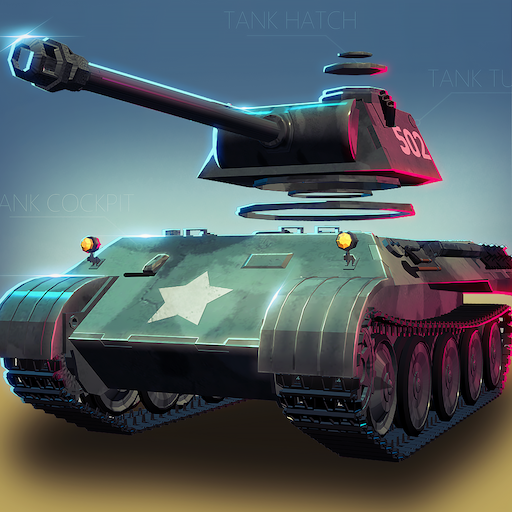 Idle Tank-Construct your car  (Unlimited money,Mod) for Android
