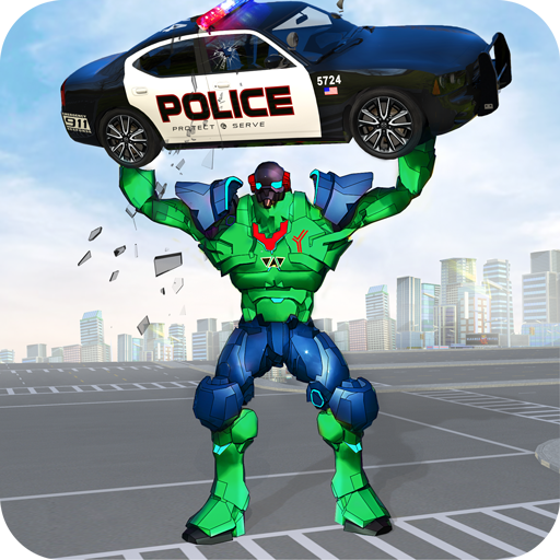 Incredible Monster Robot Hero Crime Shooting Game  (Unlimited money,Mod) for Android 2.0.2