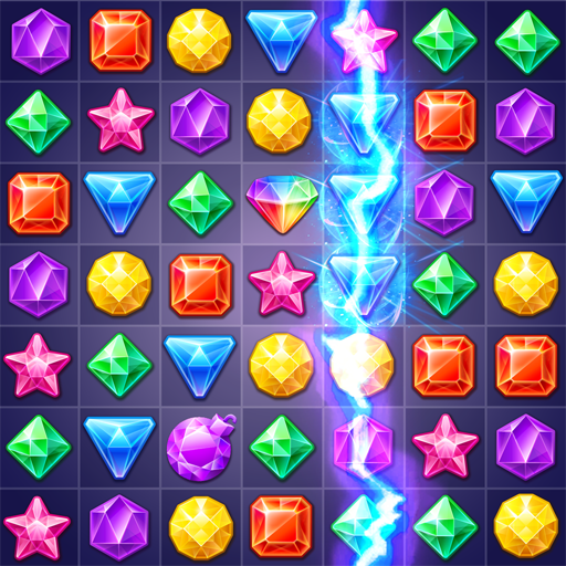Jewels Track – Match 3 Puzzle  (Unlimited money,Mod) for Android 5.8.5002