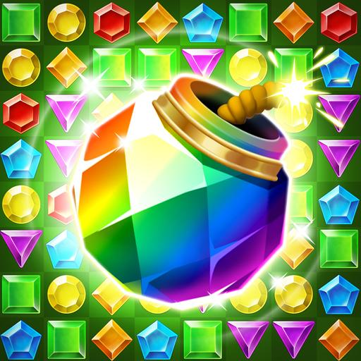 Jungle Gem Blast: Match 3 Jewel Crush Puzzles  (Unlimited money,Mod) for Android 4.2.7