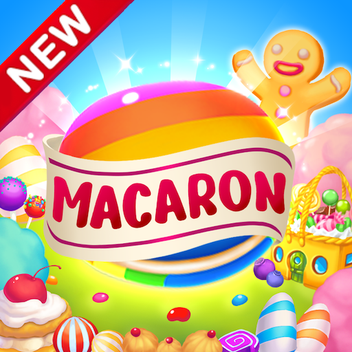 Macaron Pop : Sweet Match3 Puzzle  (Unlimited money,Mod) for Android 2.1.5