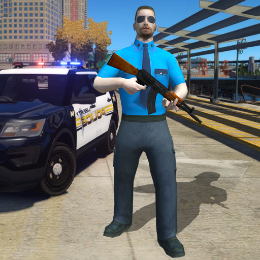 Miami Super Crime Police rope hero gangster city  (Unlimited money,Mod) for Android