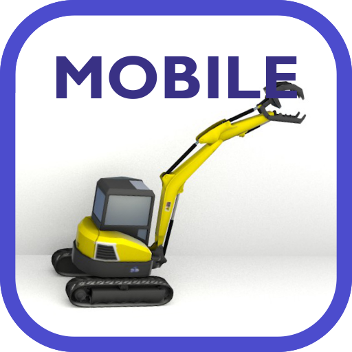 Mobile system hydraulic excavator training  (Unlimited money,Mod) for Android