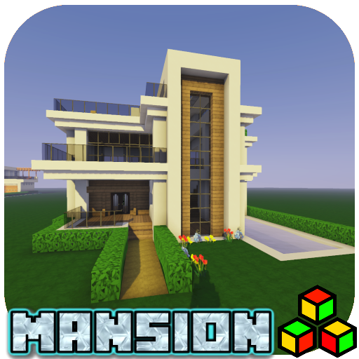 Modern House Mansion Map  (Unlimited money,Mod) for Android