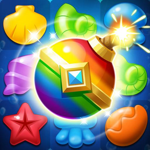 Ocean Splash Match 3: Free Puzzle Games  (Unlimited money,Mod) for Android