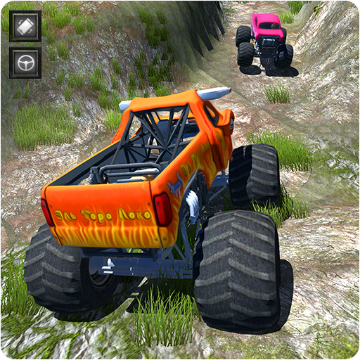 Offroad Monster Truck Stunt Driving Simulator  (Unlimited money,Mod) for Android