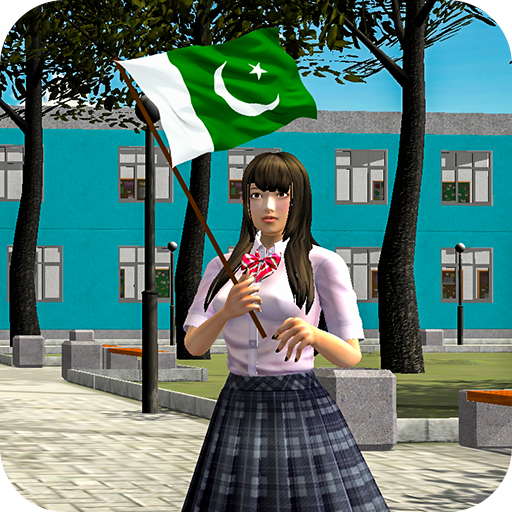 Pak Independence Day High School Girl Celebration  (Unlimited money,Mod) for Android 3