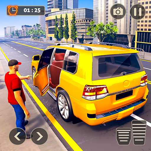 Prado Taxi Car Driving Simulator  (Unlimited money,Mod) for Android 1.0.18
