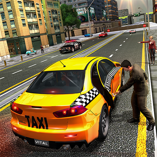 Pro TAXI Driver Crazy Car Rush : Driving Simulator  (Unlimited money,Mod) for Android 1.1.5
