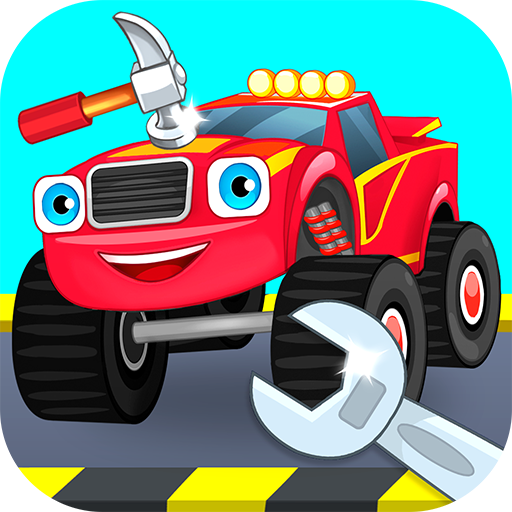 Repair machines – monster trucks  (Unlimited money,Mod) for Android 1.1.0