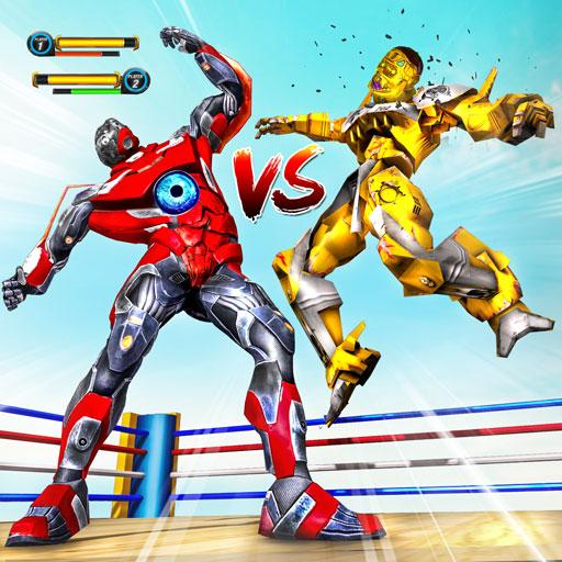 Robot Ring Fighting 2020-Real Robot Fighting Games  (Unlimited money,Mod) for Android