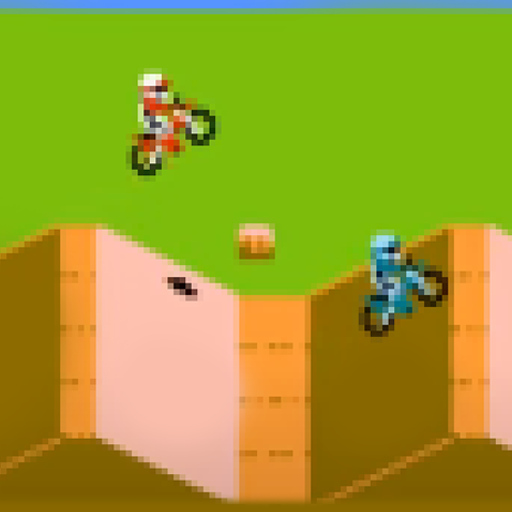 Skeleton Bike : Race 64 classic old 1984  (Unlimited money,Mod) for Android